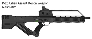 R-25 Assault Rifle by Ato66