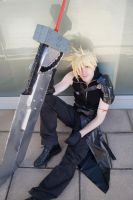 Cloud Strife Advent children by NaitoInugami