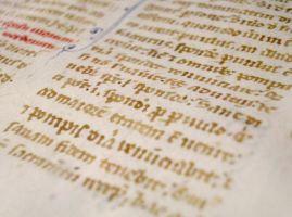 13th Century Manuscript 05 by barefootliam-stock