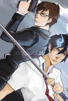 Okumura Brothers by magicalzebra