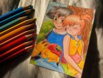 Ash x Misty - Nap Time by Isi-Daddy