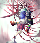 Hanging Ribbons by LumiPop