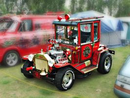 Fire Engine Hot Rod? by friartuck40