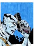 ABE SAPIEN Commission by drawhard