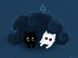 Bush Kittens by TotemEye