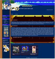 Classic Sonic CSS Journal by BulletSD