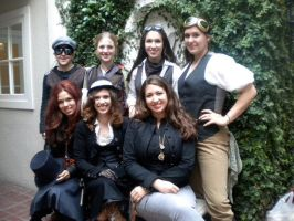 Steampunk Group Shot by GAClive