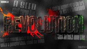Revolution- Psalm 22:30-31 by SympleArts