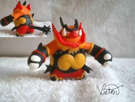 500 Emboar by VictorCustomizer
