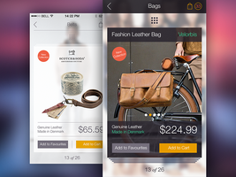 Online Store iPhone App Design by Ramotion