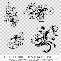 Floral Brushes (Pixlr) by LightPassion