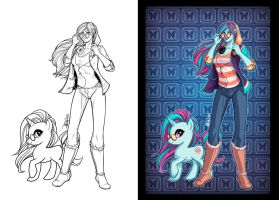 OC Pony: Current Pulse by DStPierre