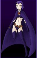 Raven Colored by Kevichan