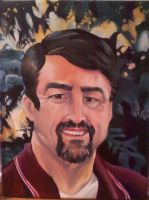 Portrait Of Dad by KittyNamedAlly