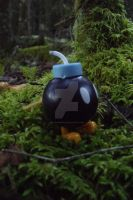 Bom-omb in the Forest by alysademure