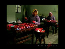 RED SHOES 2 ZHOUZHUANG by openended
