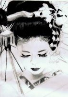 Geisha. by LostInTheFalling