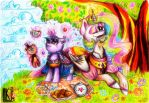 Lessons with princess Celestia by ByLuK