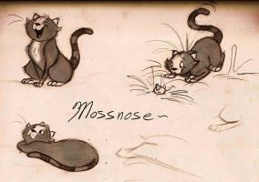 Mossnose by Mitch-el