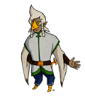 Adult male rito adopt (open) by Amandinde