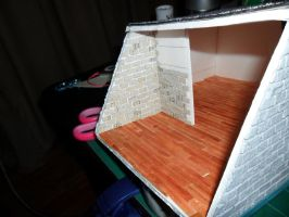 Les Shoppes Dollhouse Project: WIP 25 by kayanah