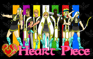 Heart Piece Main Cast by MLP-Sage