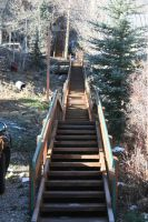 Park City Stairs by Jennamation