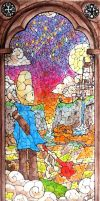 Le Vitrail / The Stained Glass (1st Version) by theRatigan