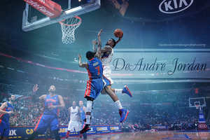 DeAndre Jordan - Best dunk of the season 2012/2013 by RafaelVicenteDesigns