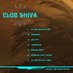 Club Shiva - CD Cover Backside by Taksha