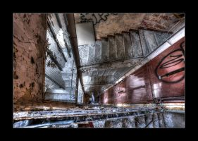 Sanatorium Staircase by 2510620