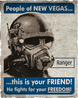 NCR Ranger Poster by FalloutPosters