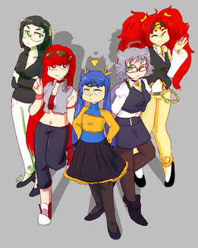 Group Comm by Artist-squared