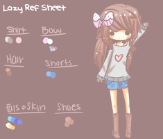 Quick Lazy Temporary Reference Sheet by ToasterLady