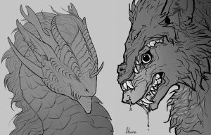 Two busts by LhuneArt