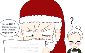 Santa Baby by clampfan101