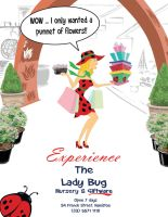 Lady Bug Advertisement by Sopecartoons