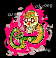 CALAVERA SERPIENTE by zu-2099