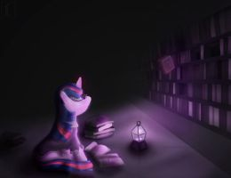 Twilight Nighttime Study by SubjectNumber2394