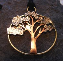 Tree with the Sun by MoonLitCreations