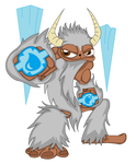 Skylander Bentley the Yeti by The1stMoyatia