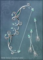 Moon Elves' Bow by Rittik-Designs