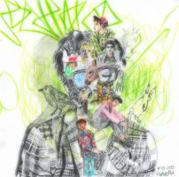 SHINee Dream Girl Album Cover by Pipi92