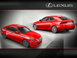 Lexus IS Design Challenge Touring Hatch Back by 4sidedpolygon