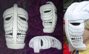 Hirako Shinji's Hollow Mask by YellerCrakka