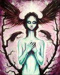 the Crow Queen by ShawnCoss