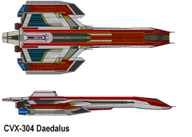 X-303a daedalus refit by bagera3005
