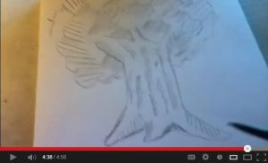 Easiest way to draw a realistic tree. Please click by ni98