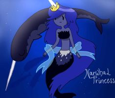 Narwhal Princess by Allora1313