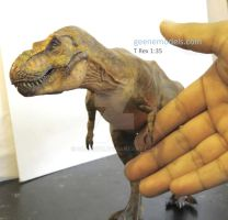 T Rex 1:35 scale  green by GalileoN